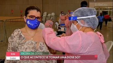 Segunda dose da vacina deve ser da mesma fabricante da primeira - Infectologista explica que a eficácia das vacinas foi estudada com duas doses. Por enquanto, menos de 1% da população brasileira foi imunizada com a primeira dose.