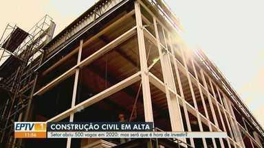 Saiba se é hora de investir no setor da construção civil - Economista comenta sobre o tema.