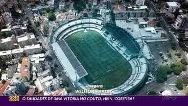 Mais uma vez Coritiba joga a vida no Brasileirão - Coxa precisa vencer o Grêmio neste domingo (31), às 16h, no Couto Pereira; RPC transmite a partida para todo o estado