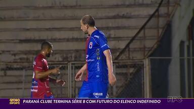 Paraná Clube fecha Série B com empate melancólico - Tricolor ficou no 0x0 com o Cruzeiro e acumula indefinições para a temporada 2021