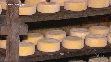 Produção de queijos artesanais é destaque no Jornal do Campo deste domingo (31) - Essas e outras notícias você confere a partir das 7h30.