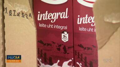 Litro do leite está mais barato - Leite longa vida está custando até 10 centavos mais barato.
