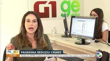 Instituto de Segurança Pública registra queda no número de roubos na região - Em comparação com 2019, Valença é a única cidade que registou aumento nos números. Alta foi de 46%.