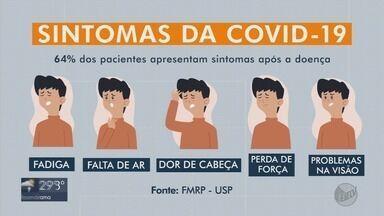 64% dos pacientes apresentam sintomas seis meses após recuperação da Covid-19 - 64% dos pacientes apresentam sintomas seis meses após recuperação da Covid-19