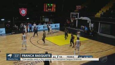 Franca Basquete perde para San Lorenzo na Champions League das Américas - Partida terminou 73 a 68 para time argentino.
