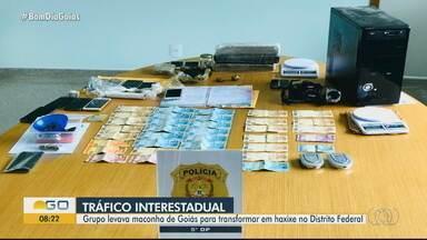 Operação investiga lavagem de dinheiro e tráfico de drogas no DF e em três estados - Segundo investigação, suspeitos são da mesma família e agiam de 'modo semelhante à máfia italiana'. Mandados estão sendo cumpridos em GO, SC e SP, além de regiões de Brasília.
