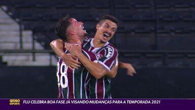 Com vaga na Libertadores quase garantida, Fluminense comemora boa fase e visa mudanças para temporada 2021 - Com vaga na Libertadores quase garantida, Fluminense comemora boa fase e visa mudanças para temporada 2021