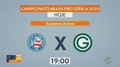 Confira os próximos jogos da rodada no Campeonato Brasileiro - Jogos começam neste sábado (6) às 19h e vão até a próxima quarta-feira (10).