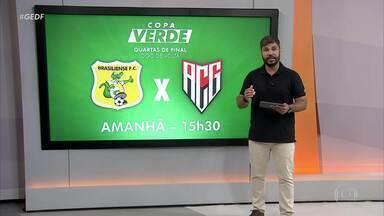 Brasiliense joga neste domingo pelas quartas de final da Copa Verde - Brasiliense joga neste domingo pelas quartas de final da Copa Verde