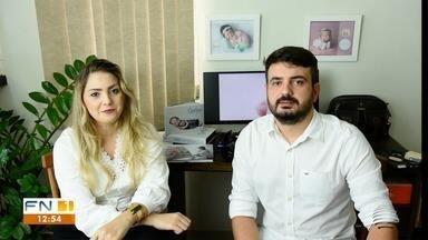 Casal de especialistas em fotos de bebês participa do 'Entre Nós' - Confira a conversa de Fernando Castilho e Regiane Cruz com Bruna Bachega.