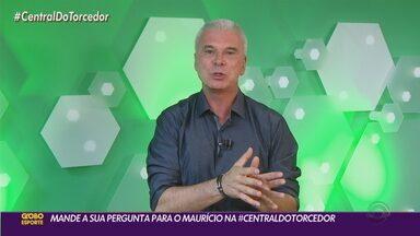 Maurício Saraiva responde a segunda participação do público na Central do Torcedor - Assista ao vídeo.
