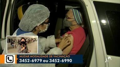 Novos pontos de vacinação começam a funcionar em Fortaleza - Saiba mais em: g1.com.br/ce