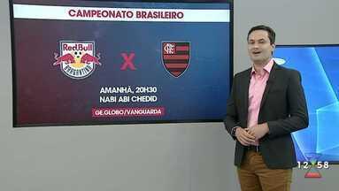 Bragantino enfrenta o Flamengo pelo Campeonato Brasileiro - Jogo acontece em Bragança Paulista.