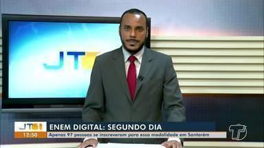 Tudo pronto para aplicação da segunda prova do Enem Digital em Santarém - Dois locais recebem os candidatos inscritos para a modalidade. Coordenação segue protocolos de biossegurança.