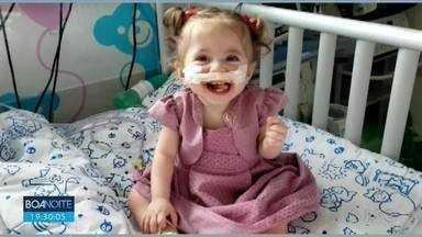 Liminar garante operação em criança de um ano - Operação será no coração da pequena Beatriz.