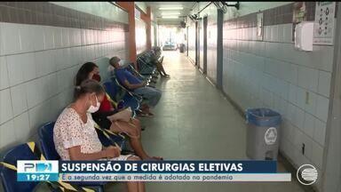 Cirurgias eletivas são suspensas no Piauí após aumento da ocupação de leitos - Cirurgias eletivas são suspensas no Piauí após aumento da ocupação de leitos