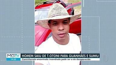 Polícia Civil investiga desaparecimento de homem no Leste de Minas - Ele saiu de Teófilo Otoni para ir até Guanhães e não retornou.