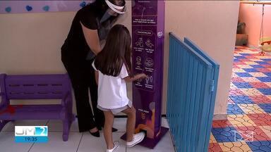 11 escolas particulares de São Luís já suspenderem as aulas presenciais por causa da Covid - A Associação de Pais e Alunos quer que as escolas façam a testagem dos funcionários.