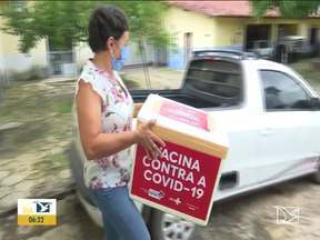Municípios do Vale do Pindaré ampliam público-alvo de vacinação contra a Covid-19 - Regional de saúde de Santa Inês acabou de receber mais uma remessa da vacina Coronavac.