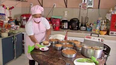 Escola de Gastronomia oferece cursos on line; e uma receita de bolo de macaxeira - Saiba mais em g1.com.br/ce