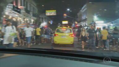 Festas irregulares no Rio provocam aglomerações na sexta-feira de carnaval - O carnaval no Rio de Janeiro começou com muita aglomeração em festas irregulares. Mesmo com todas restrições impostas pela pandemia.