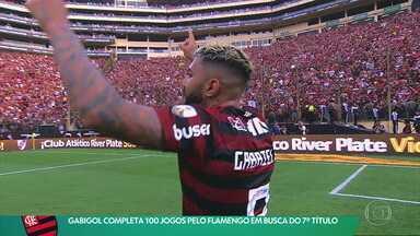 Gabigol complata 100 jogos com a camisa do Flamengo que luta por mais um título brasileiro - Gabigol complata 100 jogos com a camisa do Flamengo que luta por mais um título brasileiro