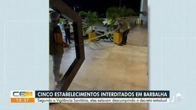 Festas proibidas são encerradas em Quiterianópolis e Barbalha - Saiba mais em g1.com.br/ce