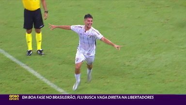 Com Martinelli em boa fase, Fluminense busca vaga direta na Libertadores - Com Martinelli em boa fase, Fluminense busca vaga direta na Libertadores