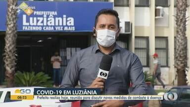Luziânia tem novas regras para evitar contaminação pelo coronavírus - Prefeito realiza reunião para discutir novas medidas de combate à doença.