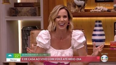 Ana Furtado diz que tem 'pesadelos' de que está no Big Brother - Apresentadora acredita que não teria coragem de participar do reality