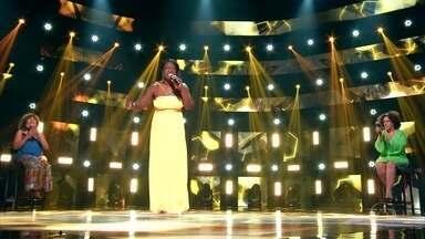 Zeni Ramos canta 'Luz do Sol' - Cantora é a última co time Claudia a se apresentar