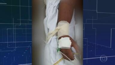 Pacientes com Covid são amarrados a macas no Amazonas por falta de sedativo - Em um hospital público de Parintins, acabou o sedativo usado para intubação. A Defensoria Pública vai apurar a situação dos pacientes.