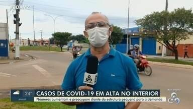 Iranduba é o quarto município em casos de Covid-19 - Aumento de casos preocupa.