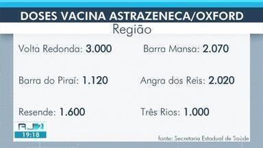 Veja quantas doses das vacinas contra a Covid-19 devem chegar na sua cidade- parte 1 - Mais de 17 mil doses serão destinadas para a região.