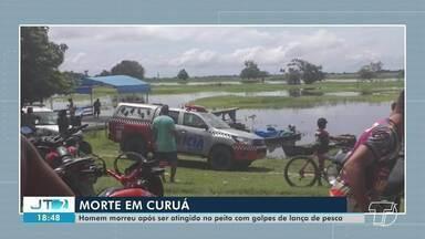 Irmão mata irmão a golpes de lança de pesca; caso foi registrado no município de Curuá, PA - Homicídio aconteceu na manhã desta quinta-feira (25) durante um desentendimento entre os dois.