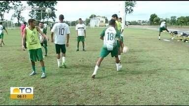 Gurupi regulariza situação de jogadores e se prepara para a 2ª rodada do Tocantinense - Gurupi regulariza situação de jogadores e se prepara para a 2ª rodada do Tocantinense