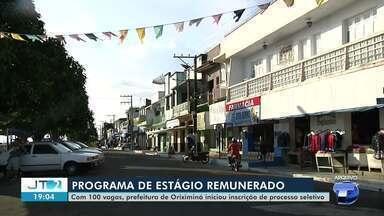 Com 100 vagas, Prefeitura de Oriximiná publica edital para estagiários - Saiba como concorrer a vagas.