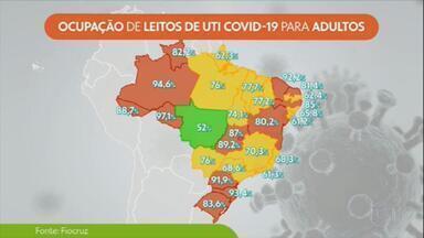 Pandemia atinge pior momento no Brasil - UTIs estão lotadas pelo país e crescem os casos graves entre jovens.
