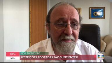 'Precisaríamos de lockdown de 21 dias no Brasil', alerta Miguel Nicolelis - Vários estados decretaram medidas restritivas. Porém, para o especialista, apenas um lockdown real poderia promover a queda significativa do espalhamento do coronavírus pelo país.