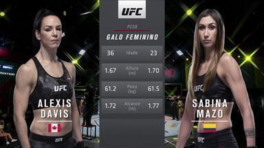 UFC Rozenstruik x Gané - Alexis Davis x Sabina Mazo - UFC Rozenstruik x Gané - Alexis Davis x Sabina Mazo
