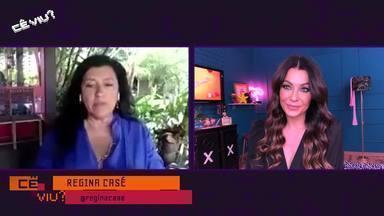 "Cê Viu? 27/02/2021 - íntegra - Cecília fala da volta de ""Amor de mãe"" com Regina Casé."