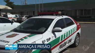 Delegacia do Paranoá prende homem de 42 anos suspeito de ameaçar namorada - Veja outros destaques desta quinta-feira (04/03).