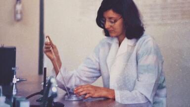 Antena Paulista mostra trajetória de três mulheres cientistas - São profissionais importantes, pioneiras, que enfrentaram desafios e hoje são referências de sucesso e competência.