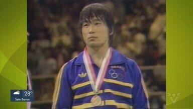Medalhista olímpico de judô escolhe Santos para viver - Luiz Onmura é inspiração para judocas do Clube Internacional de Regatas.