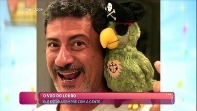 Ana Maria Braga fala sobre aniversário de Louro José - Papagaio faria 24 anos no último sábado