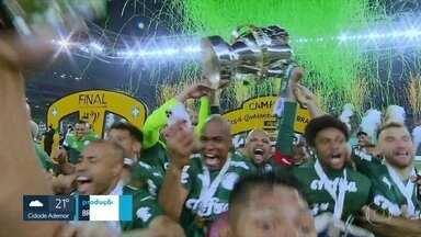 Palmeiras conquista a Copa do Brasil - Clube encerra a temporada 2020 levantando o terceiro troféu