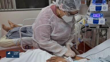 Sistema de saúde de Taboão da Serra entra em colapso - Em Taboão da Serra, nove pessoas com Covid-19 morreram enquanto aguardavam vagas na UTI. Nos hospitais, as equipes de saúde estão esgotadas com o aumento de demanda.