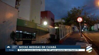 Prefeito de Cuiabá anuncia novas ações na rede de saúde para atender pacientes com Covid - Prefeito de Cuiabá anuncia novas ações na rede de saúde para atender pacientes com Covid.