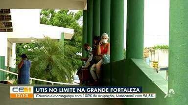 UTIs da região metropolitana de Fortaleza estão com quase 100% de ocupação - Saiba mais em g1.com.br/ce