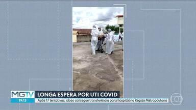 Estado vai passar a divulgar dados de leitos de UTI Covid separadamente dos leitos gerais - Um ano após a pandemia, Minas é o único estado do país que ainda não divulga desta forma.